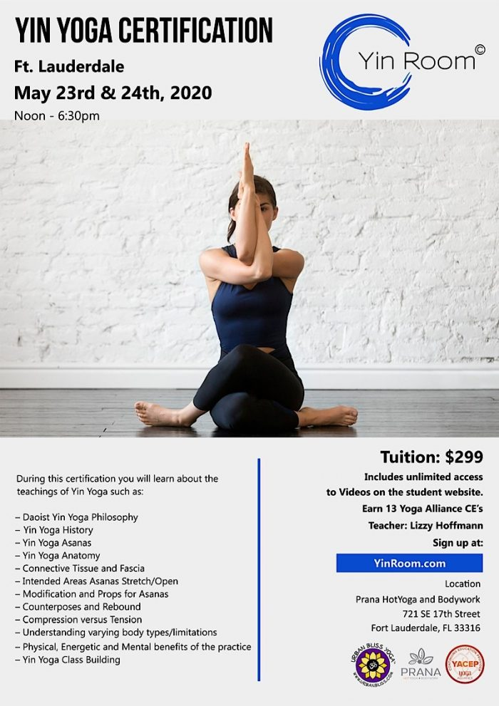 Yin Yoga Certification in Fort Lauderdale